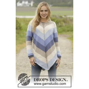 Ocean strlipes by DROPS Design - Tunika Stick-opskrift strl. S - XXXL