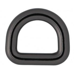 Køb Infinity Hearts D-Ring Mässing Gunmetal 10x10mm – 5 st