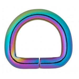 Køb Infinity Hearts D-Ring Järn Mixfärgad 15x15mm – 5 st