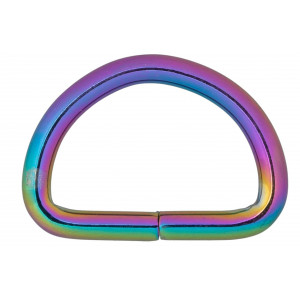 Køb Infinity Hearts D-Ring Järn Mixfärgad 32x32mm – 5 st