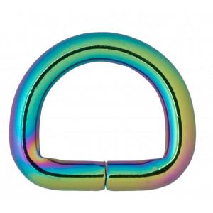 Køb Infinity Hearts D-Ring Järn Mixfärgad 20x20mm – 5 st