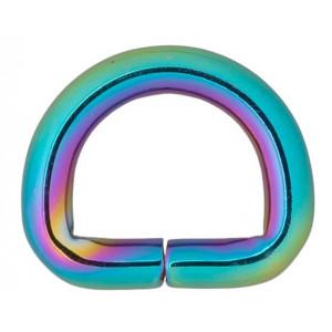 Køb Infinity Hearts D-Ring Järn Mixfärgad 14x14mm – 5 st