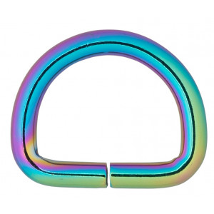Køb Infinity Hearts D-Ring Järn Mixfärgad 25x25mm – 5 st