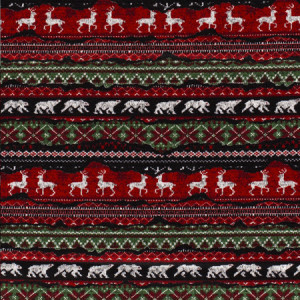 Køb Stickat Jul Joggingtyg 155cm 25 – 50 cm