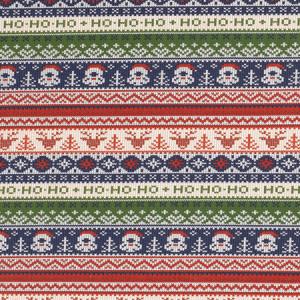 Køb Jul French Terry Tyg 150cm 18 Tomtar – 50 cm