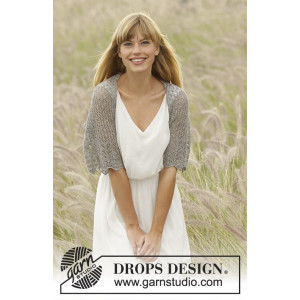 From Grace by DROPS Design - Bolero Stick-opskrift str. S - XXXL