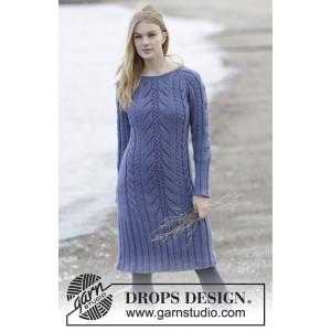 Regal Splendour by DROPS Design - Klänning Stick-opskrift str. S - XXXL
