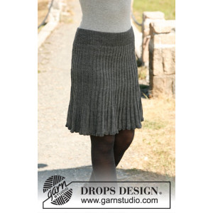 First Lady by DROPS Design - Kjol Stick-opskrift str. S - XXXL