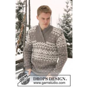 Simon by DROPS Design - Tröja Stick-opskrift strl. XS/S - XXXL