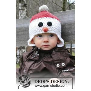 Carrot Nose by DROPS Design - Mössa Virk-opskrift strl. 6/9 mdr - 9/10 år