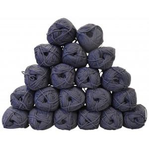 Drops Merino Extra Fine Garnpaket Unicolor 13 Jeansblå - 20 st.