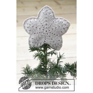 Top That! by DROPS Design - Julgransstjärna Virk-mönster20x20 cm