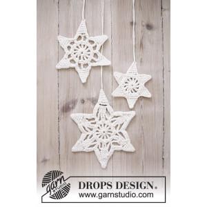 Wishing Stars by DROPS Design - Julstjärnor Virk-mönster 3 storlekar