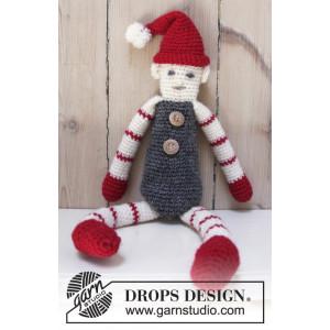 Santa's Buddy by DROPS Design - Tomte Virk-opskrift 42 cm