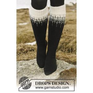 Winter Fantasy Strumpor by DROPS Design - Strumpor Stick-opskrift str. 35/37 - 41/43