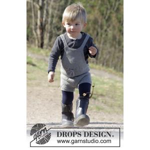 The Little Lumberjack by DROPS Design - Lekdräkt Stick-opskrift strl. 1/3 - 24 mdr