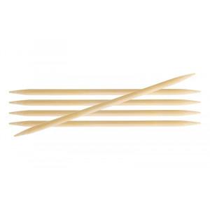 KnitPro Bamboo Strumpstickor Bambu 15cm 2,00mm / 5.9in US0