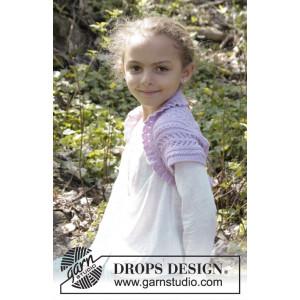 Leelanee by DROPS Design - Bolero Stick-opskrift strl. 3/4 - 11/12 år
