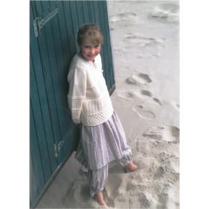 Mayflower Barn Tunika med Hålmönster - Tunika Stick-opskrift strl. 2 år - 12/14 år