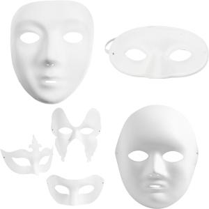 Plastmasker / Pappmasker